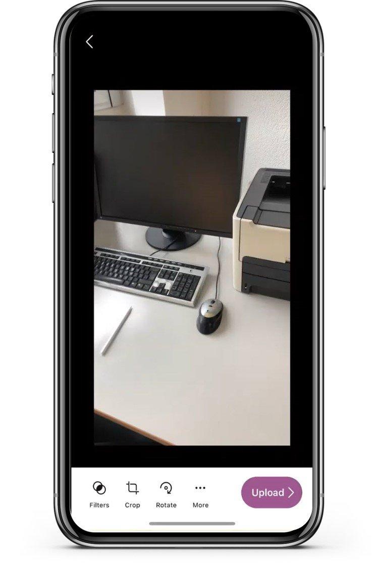 Microsoft Lists Mobile App Take Photo