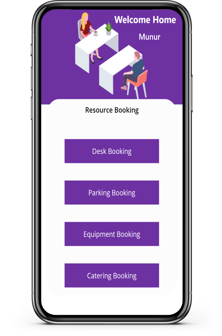 Mobile Resource Booking
