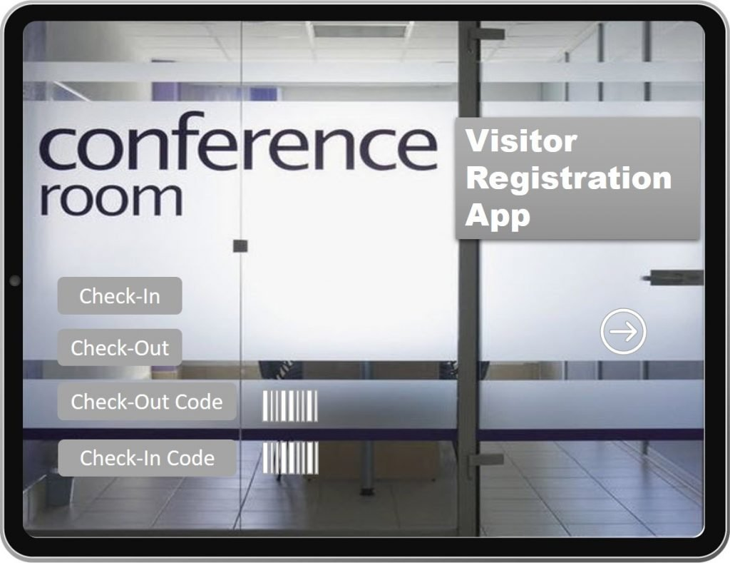 Visitor Registration-Grey-Theme